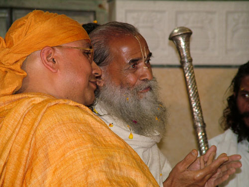 Sriji and Guruji