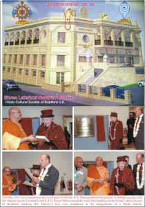 Bradford, the Queen and Shri Sadgurudev Ji maharaj