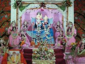 Shri Shri Radha Golokavihari Bhagavan Ashta Sakhi Sahita