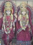 The Lovely Lakshmi Narayan Deities at the Mandir