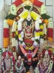Shri Venkateshvara Perumal at the mandir
