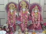 Bhagavan Shri Sita-Rama-Lakshmana-Hanuman at the Mandir