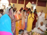 Prayers at the Lakshmi Mandir to conclude the Jalayatra and Praasaad Pravesh Rituals