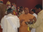 Shri Sadgurudev Ji Maharaj installs the Yantras for the deities
