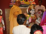 Shri Sadgurudev Ji Maharaj opens the eyes of Mahalakshmi Mata