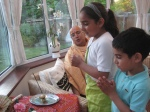 Shri Sadgurudev Ji Maharaj instructing the next generation on how to Pray...