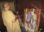 Shri Sadgurudev Ji offers Guru Puja to Shri Parama Gurudev Ji in Vrindavan Dham