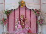 Vaishnavi Shri Durga Mata Ji after being worshipped on Shri Guru Purnima