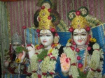Thakur Shri Shri Radha Golokavihari Bhagavan in Swarna Mukut Darshan