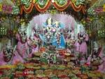 Thakur Shri Shri Radha Golokavihari Bhagavan with Ashtasakhis in Chhappan Bhog Darshan