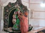 Swami Shri Gurusharanananda Ji Maharaj perfoms Puja to Shri Sharaneshwari Vaishnavi Durga Mata