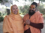 Swami Shri Rajendradas Ji and Shri Sadgurudev Ji before journeying to Mt. Abu