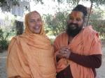 Swami Shri Rajendradas Ji and Shri Sadgurudev Ji before journeying to Mt. Abu