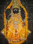Shri Paat Naaraayan Bhagavan, at the Abu Road Ashram of Shri Yugal Sharan Ji Maharaj, a very ancient deity