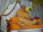 Shri Sadgurudev Ji Maharaj blesses the devotees at the Patotsava