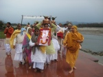 About to enter the Yagyashala (Yagyashala Pravesha)