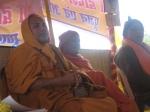 Shri Sadgurudev Ji Maharaj, Swami Swaroopanand Ji and Shri Swami Ji of Gopal Bagh, Vrindavan