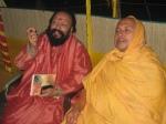 Swami Shri Arjun Puri Ji Maharaj with Shri Sadgurudev Ji Maharaj