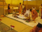 The Nandimukhashraaddha rituals before the Yagyopavita Samskar