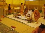 The Nandimukhashraaddha rituals before the Yagyopavita Samskar