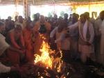 Final Offerings by Shri Sadgurudev Ji Maharaj and devotees