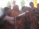 Vasorddhaaraa - Ghee offerings to conclude