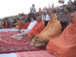 Evening Satsang with Swami Chidanand Muniji & Guests on Ghat