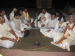 Brahmana Vidaayi - thanking the Brijwasi Yagyacharya Brahmanas for their wonderful expertise