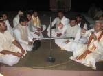 Brahmana Vidaayi - thanking the Brijwasi Yagyacharya Brahmanas for their wonderful expertise