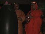 Swami Shri Shuddhaatmananda Ji Maharaj & Shri Sadgurudev Ji Maharaj beginning the worship on Shri Maha Shiva Raatri