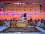the divine darshan of the Sant Sammelan