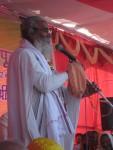 Chatuh Sampraday Mahant Shri Phooldol Das Ji Maharaj addresses the devotees